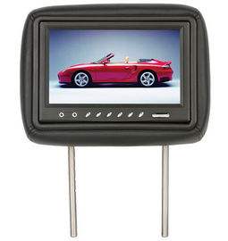 "LCD Advertising Car Pillow Monitors 273mm*180mm*124mm Dimension 9"" Display"